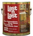 Absolute Last N Last Clear Polyurethane Wood Finish 550voc Semi Gal