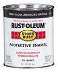 Rust-Oleum Stops Rust  1/2 Pint Gloss Humter Green 7738730
