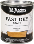 Old Masters Professional Fast Dry Wood Stain Early American Gallon 60701