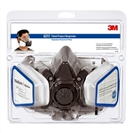 3M Half Facepiece Paint Spray/Pesticide Respirator Assembly Large R6311