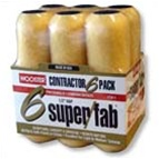 """Wooster Super Fab 6-PACK 9"""" x 1/2"""" R750"""