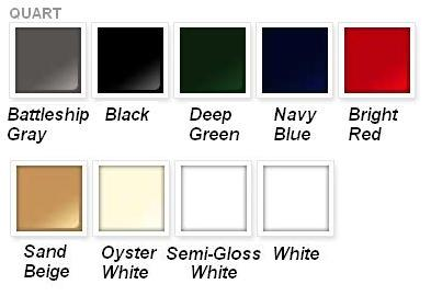 Rustoleum Marine Paint Colors