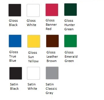 Krylon Color Creations Half Pint Color Chart