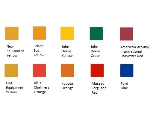 Krylon Paint Color Chart