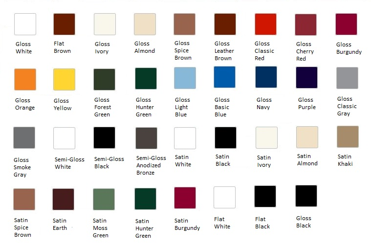 Metallic Car Paint Color Chart 2017 2018 Best Cars Reviews