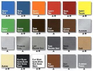 Oil Based Enamel Paint Colors