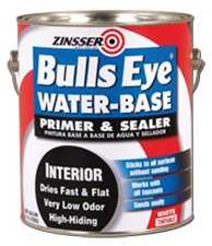 Zinsser Bulls Eye Water Based Primer Sealer Stain Killer