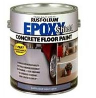 rust oleum epoxy shield concrete floor paint. Black Bedroom Furniture Sets. Home Design Ideas