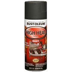 rust oleum automotive high heat spray. Black Bedroom Furniture Sets. Home Design Ideas