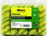 "Whizz 4"" WhizzFab Fabric Roller Covers 10 Pk 25005"