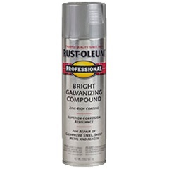 rust oleum professional bright galvanizing compound spray. Black Bedroom Furniture Sets. Home Design Ideas