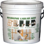 Associated Paint 1 Gal Clear Masking Liquid H2O