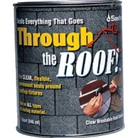 Sashco Through The Roof Clear Roof Sealant