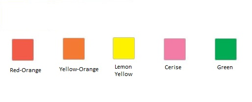 Krylon Fluorescent Paint Color Chart