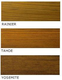 Penofin Pressure Treated Wood Color Chart