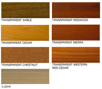 Penofin Red Label Color Chart