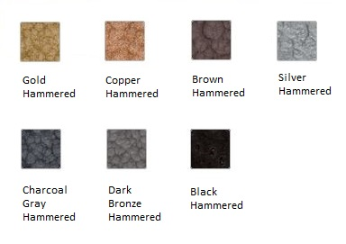 Krylon Hammered Paint Colors