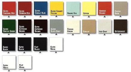 rustoleum paint color chartRustOleum Universal Spray Paint