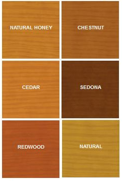 Flood Spa-N-Deck Color Chart