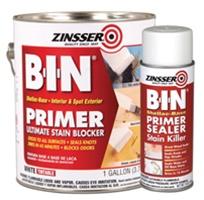 Zinsser b i n primer sealer for Best one coat coverage exterior paint