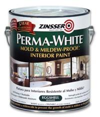 zinsser perma white mold mildew proof interior paint. Black Bedroom Furniture Sets. Home Design Ideas