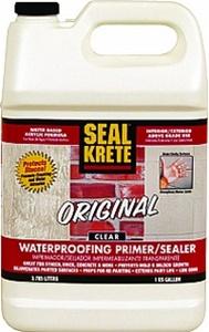 Seal Krete 1 Gal Original Clear Waterproofing Primer
