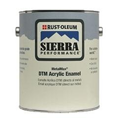 Rust-Oleum Sierra Performance MetalMax DTM Acrylic Enamel Gray