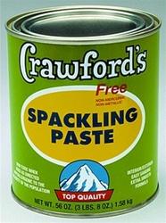 crawford 39 s spackling paste 1 qt 31904. Black Bedroom Furniture Sets. Home Design Ideas