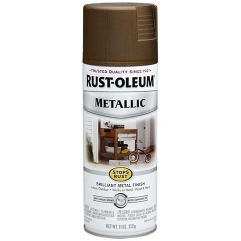 Rust Oleum Stops Rust Metallic Spray