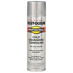 rust oleum professional cold galvanizing compound spray. Black Bedroom Furniture Sets. Home Design Ideas
