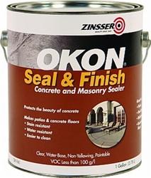 Zinsser Okon 1 Gal Seal Amp Finish Concrete Amp Masonry Sealer