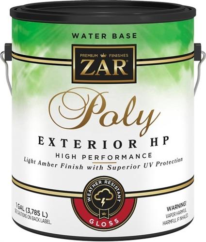 Ugl zar exterior water based polyurethane Zar exterior water based polyurethane